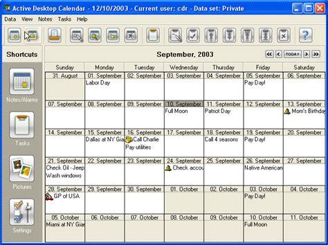 Active Desktop Calendar Desktop Calendar Maker Active Desktop Calendar Free