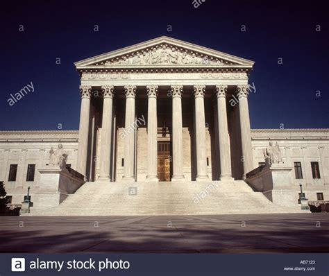 Washington Dc District Court Search Supreme Court Of Justice Building Washington Dc America Usa Stock Photo Royalty