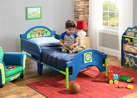 ninja turtle beds teenage mutant ninja turtles plastic toddler bed delta children s products