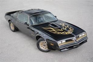 Pontiac Auction Last Surviving Smokey The Bandit Pontiac Trans Am Up
