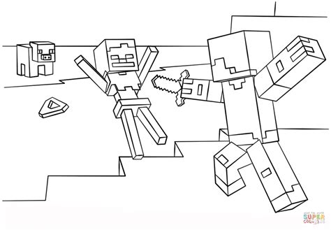 minecraft steve coloring pages free minecraft coloring pages steve coloring home