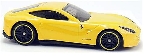Diecast Hotwheels Wheels Hw F12berlinetta Yellow Kuning f12 berlinetta 71mm 2013 wheels newsletter