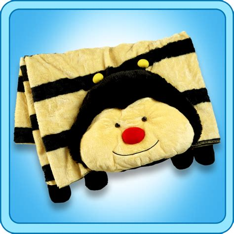 plush pillows authentic pillow pets bumble bee blanket plush gift