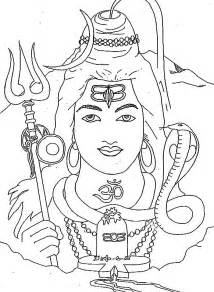 Shiva Coloring Pages free coloring pages of child shiva