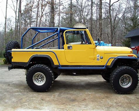 jeep ford jeep wrangler cj 8 technical details history photos on