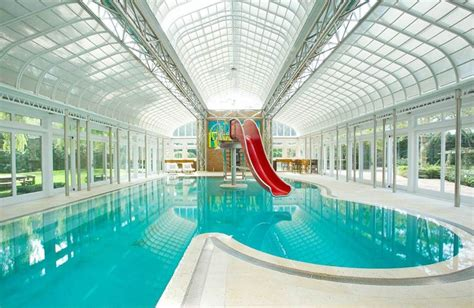 top 10 indoor swimming pools zoopla 24 awesome home indoor pool design with slide to make your