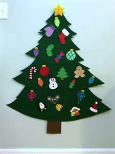 making a felt christmas tree thriftyfun