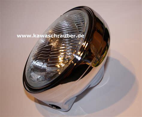 Motorrad Scheinwerfer Rund Chrom by Motorrad Le Scheinwerfer H4 Rund Chrom Verchromt Neu