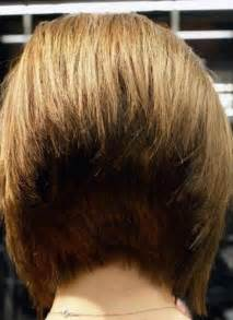 short bob wedge haircut back view short hairstyle 2013
