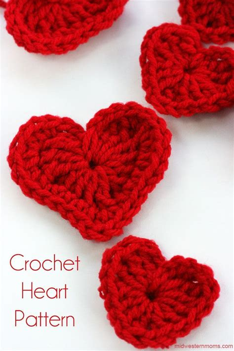 crochet heart pattern free youtube how to crochet a pattern crochet and knit