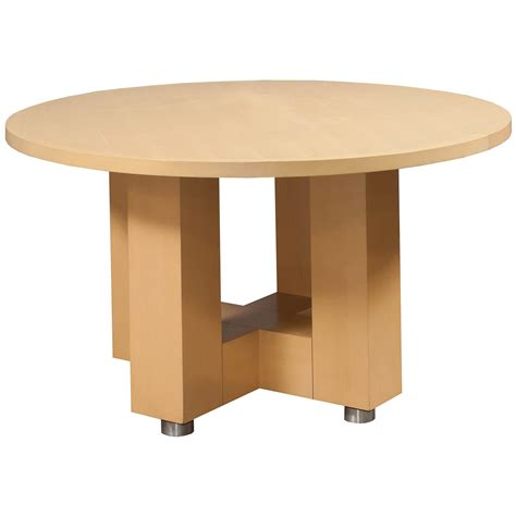 National Conference Table Used Veneer 42 Conference Table Maple National Office Interiors And Liquidators