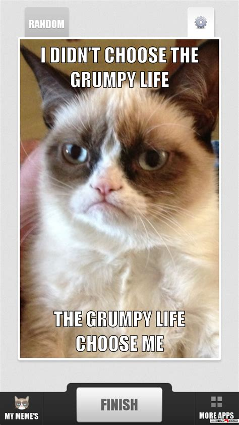 Meme Cat Generator - download grumpy cat meme generator android games apk