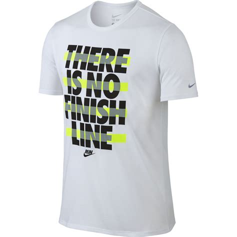 tshirt nike finish line wiggle nike run printed no finish line fa15