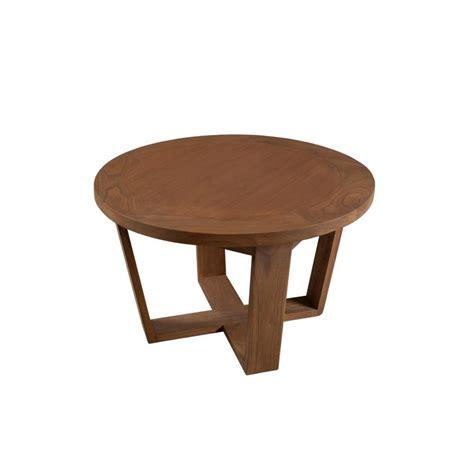 les tables basses table basse salon ronde bois ezooq