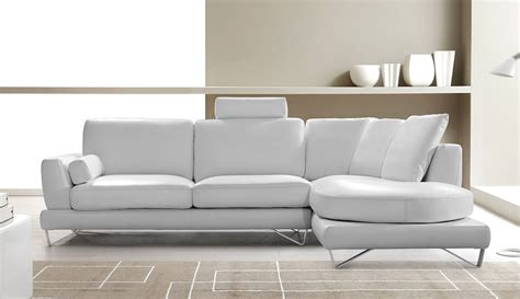 white leather sectional modern mesto modern leather white sectional sofa