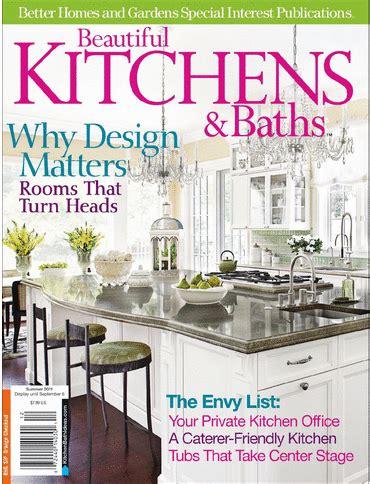 beautiful kitchens and baths magazine magazine cover better homes gardens millennium
