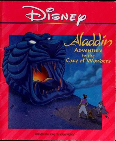 cave books adventure in the cave of wonders disney wiki