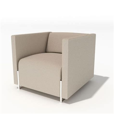 Armchair Modern by Grey Modern Armchair 34 Am45 3d Cgtrader
