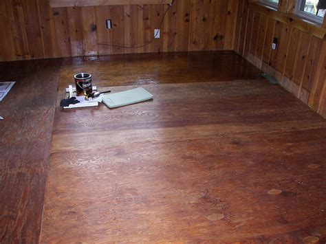 Sealing Plywood Floors by Staining Techniques For Plywood Flooring Home Design Ideas