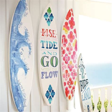 surfboard home decor the hawaiian home