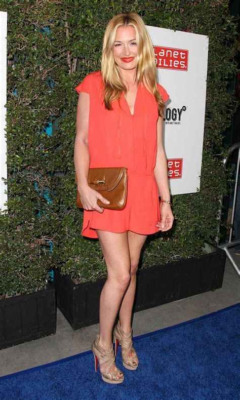 Cat Deeley At The Opening Of The Place Store Wearing Chanel by Cat Deeley Grand Opening Of Robert Earl S Planet Dailies