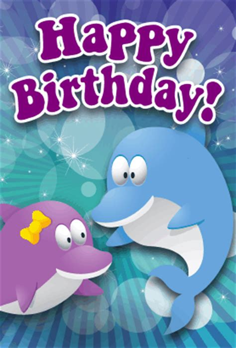 printable birthday cards with dolphins dolphins birthday card
