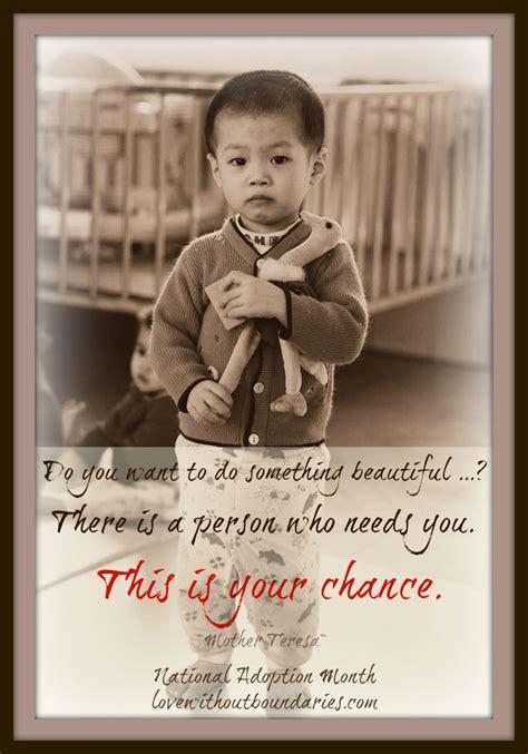 national adoption month quotes quotesgram