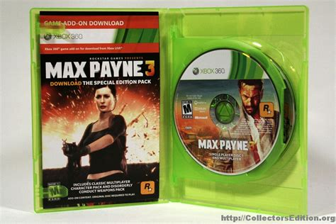 max payne 3 activation instructions and language packs max payne 3 special edition code