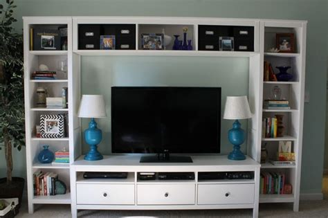 Ikea Hemnes Media | upgraded entertainment center ikea hemnes tv stand and