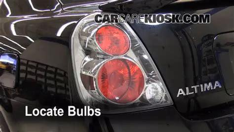 2006 nissan altima brake light bulb light change 2002 2006 nissan altima 2006 nissan