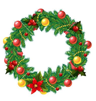 18 christmas decorations vector images free vector
