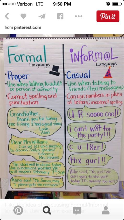 Formal News by 25 Best Images About L 4 3 C Formal Informal Language On