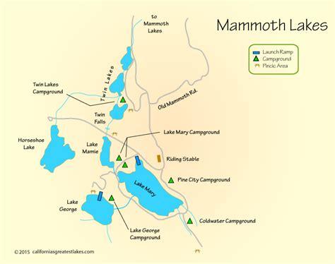 california map lakes california lakes map california map