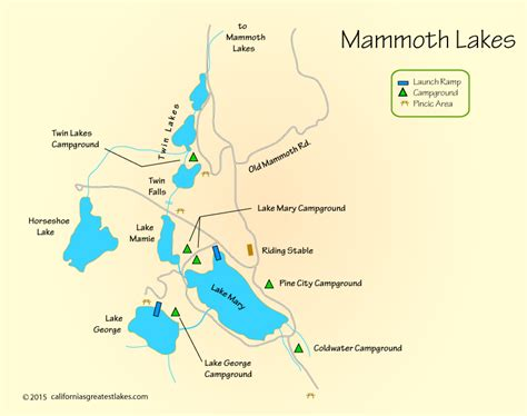california map mammoth lakes california map mammoth