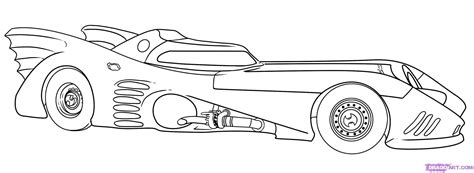 How To Draw The Batmobile Step By Step Dc Comics Comics