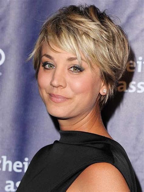 kaley cuoco new short hairdo short cropped haircuts the best short hairstyles for