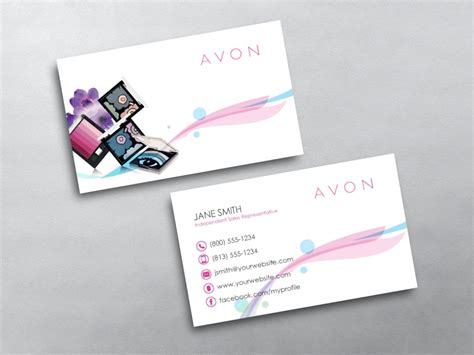 Avon Business Cards Templates Downloads by Avon Business Cards