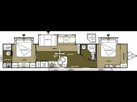 2013 wildwood dlx 4002q 2 bedroom 2 bathroom 43' travel