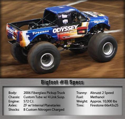 bigfoot 3 monster 137 best images about monster trucks on pinterest cars