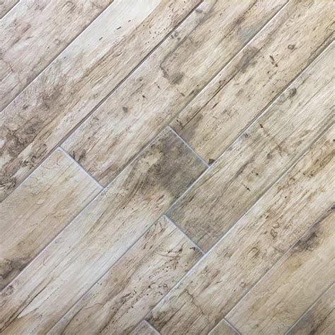 selvas beige digital wood 15x90cm glazed porcelain tile by yurtbay