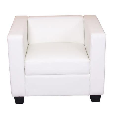 sofa cuero blanco sof 225 individual modelo lille en cuero blanco