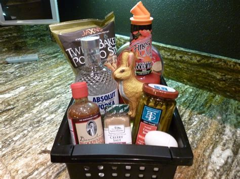 adult easter basket ideas bloody mary adult easter basket party ideas pinterest