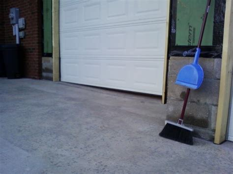 Garage Door Seal For Uneven Concrete Uneven Floor Solutions Plain On Floor For Garage Door Way Due To Uneven Slope 20 Flatblack Co
