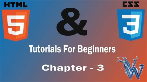 html and css tutorial for beginners the ultimate guide to learn html and css html5 and css3 beginners tutorials