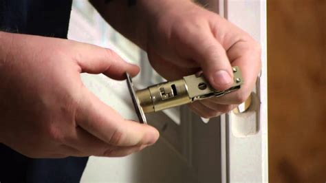 Change Front Door Lock How To Replace An Exterior Door Knob Lock Set