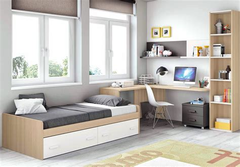 chambre ado gar輟n moderne chambre moderne ado et avec lit 2 coffres glicerio