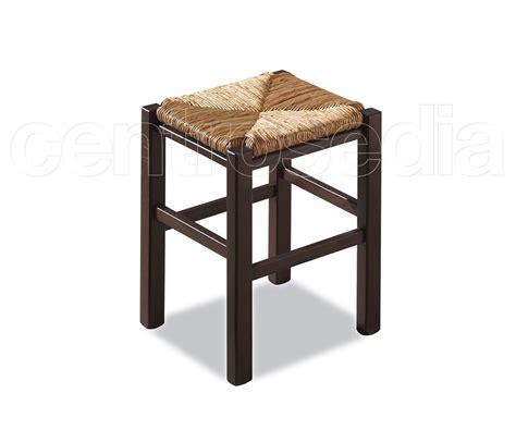 sgabello rustico rustico sgabello legno basso seduta paglia sgabelli