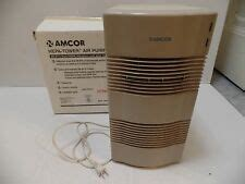 amcor air purifier ionizer ht 2000 ebay