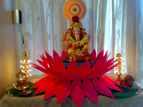 Shree Ganesh Decoration by Ganpati Decoration At Home Ideas God Wallpapers