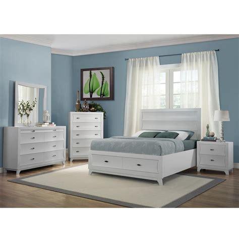 white storage bed whiteaker white storage bed el dorado furniture